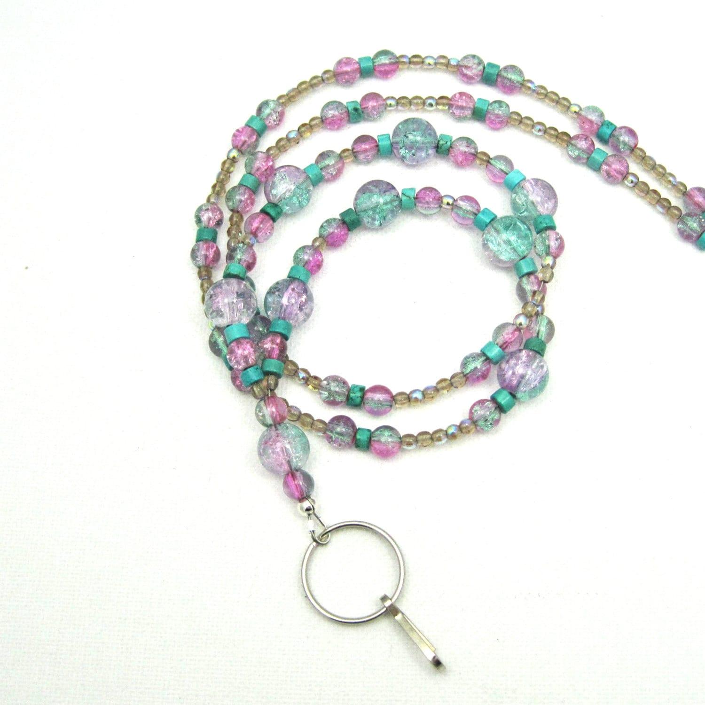 id lanyard sparkle lanyard necklace breakaway