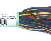 Olympus Sashiko EMBROIDERY THREAD - Variegated - Confetti (74)