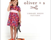 20% Off! Oliver and S PATTERN - Library Dress - SZ 6M-4