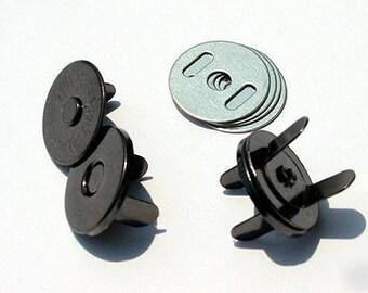 Magnetic SNAP - 14mm Black - Metal