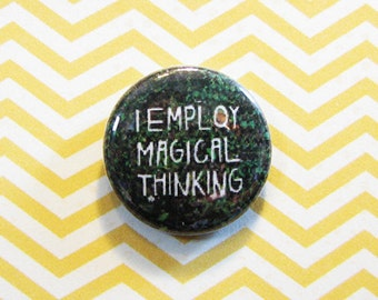 Magical Thinking Button