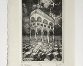 16: The Tower - limited edition fine art intaglio etching
