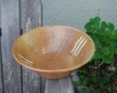 Vintage Handcrafted Ceramic Bowl