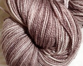 For toowooly only Fairy Sock Bronze Coffee For Greta hand dyed sock weight yarn 438 yds- 2 skeins