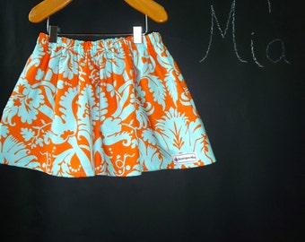 SAMPLE - Children Skirt - Amy Butler - Will fit Size 12-24 month up to 2T - by Boutique Mia and More - Ready To Ship