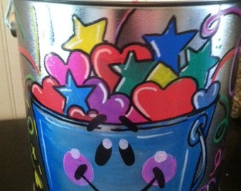 Adorable fill my bucket bucket perfect for classroom decorations  bucket fillers