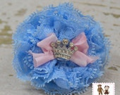 Royal Petti Lace Rosette Clip or Band by Chic Baby Rose