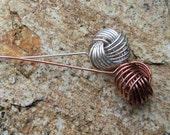 Love Knot Headpin Jewelry Tutorial PDF - INSTANT Download