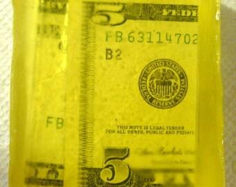 The Money Soap  One - Ten Dollar Bill