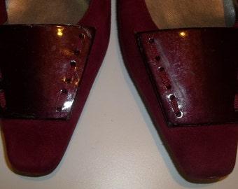Elegant ANNE KLEIN Low Heel Dressy Flat Shoes - Size 9.5M
