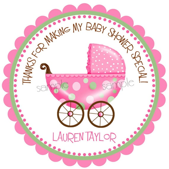 baby shower stickers new baby stickers baby stroller stickers pink