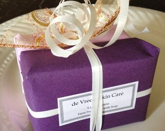 Soap of the month club - goat milk soap - 6 months FREE SHIPPING