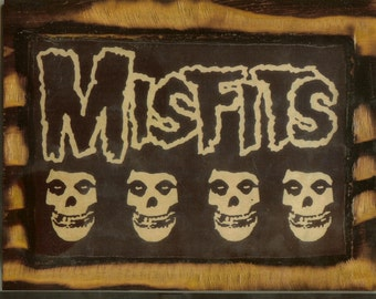 The Misfits - Wooden Plaque