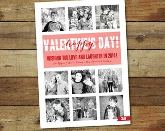 Valentine's Day Photo Collage Card