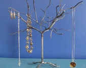 Elm Tree. Handwelded recycled steel tree for jewelry, holiday ornaments, or decoration. Made to order