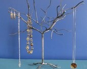 Elm Tree. Handwelded steel tree for jewelry, holiday ornaments, or decoration