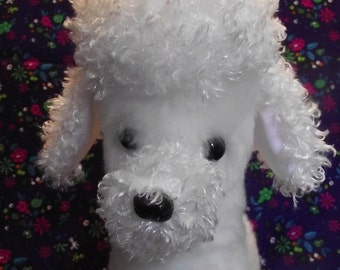 Poodle Puppy Dog Stuffed Animal Pattern for you to SEW