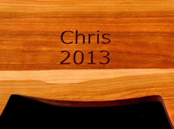 NAME and DATE Personalize your cutting board with a name & date