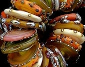 DSG Beads Handmade Organic Lampwork Glass - Made To Order (October)