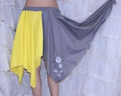 My Little Pony Derpy Bubbles Embroidered Bustle Flare Skirt Adult Large - MTCoffinz - Ready to Ship