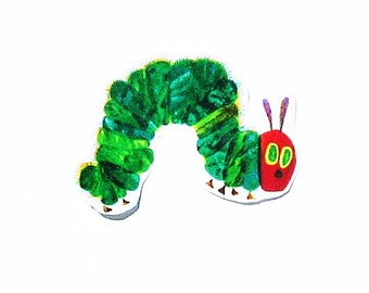 Caterpillar....Fabric Iron On Applique