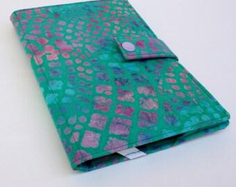Kindle Cover Teal Batik Hardcover for Kindle Paperwhite kindle voyage case