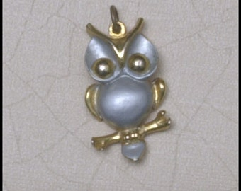 Precious Owl Pendant or Charm