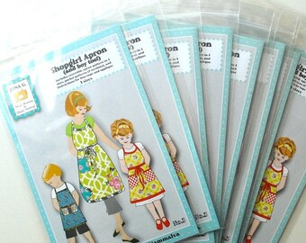 10 Pack ... Closing Out My Paper Patterns ... Jona G sewing pattern ....Shopgirl /and boy too/.....paper pattern...Size 2-10