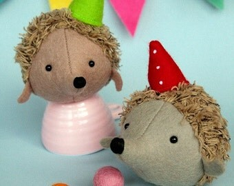 Hedgehog Circus: PDF sewing pattern