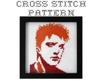 Josh Homme  - .pdf Original Cross Stitch Pattern - Instant Download