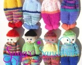 Comfort Doll Knitting Pattern Easy to Make 5 Inch Knitted Pocket Doll