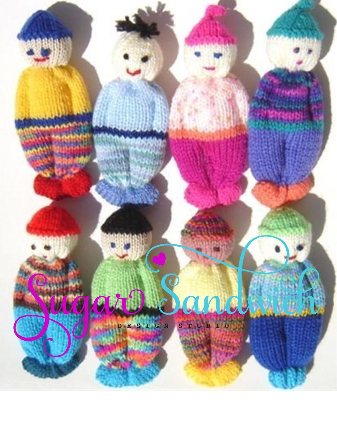 Comfort doll knitting pattern easy to make 5 inch knitted zoom bankloansurffo Image collections