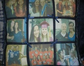 Handmade Customized Imprinted Photo Collage Pillow