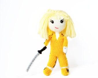Crochet Doll Pattern - Kill Bill The Bride