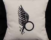 Battlestar Galactica Anders Tattoo inspired Embroidered Pillow Case Cover