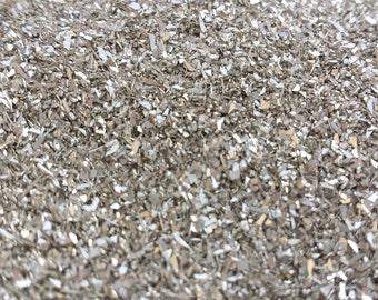 Silver German Glass Glitter - 2 ounces