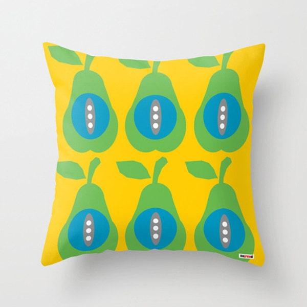 Scandinavian Pillow Case : Scandinavian pillow Pears pillow Decorative Pillow