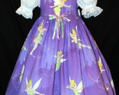 RARE Disney Sparkly TINKERBELL Dress CUSTOM Size