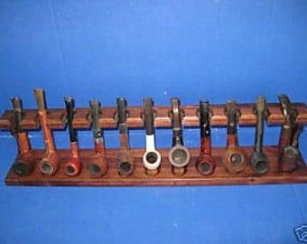 Pipe Rack stand NEW - . Smoking Tobacco Pipe Rack 11 PIPE RACK   Item 163