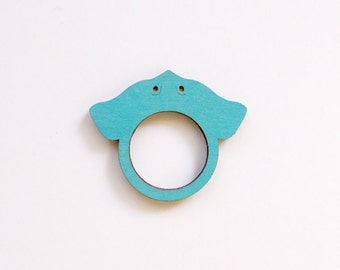 Sting Ray Wooden Ring