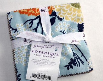 SALE 5 inch Squares Charm Pack fabric BOTANIQUE By Joel Dewberry