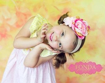 Pink Lady Headband