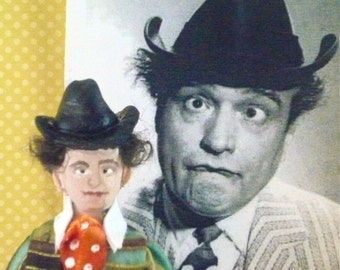 Red Skelton Comedian Doll Miniature Art Collectible