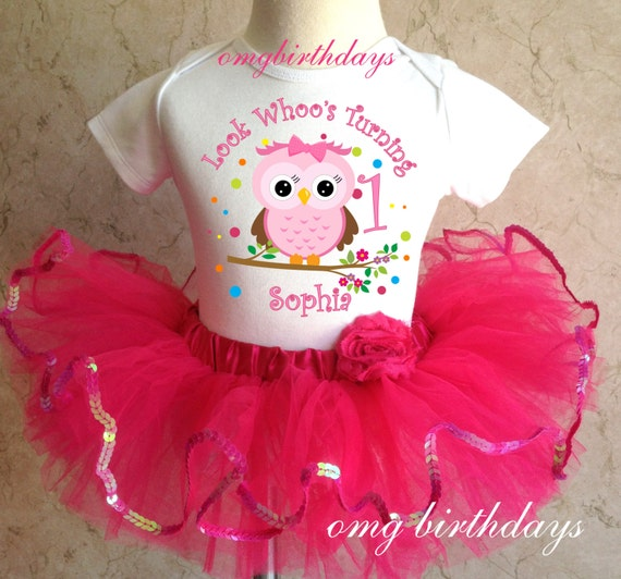 1st Birthday Ideas: Girls Owl Themed First Birthday Party