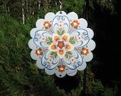 Norwegian art wind spinner