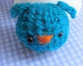 Bluebird amigurumi