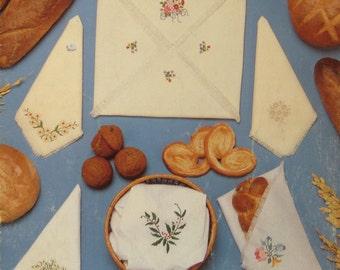 Elegant Breadcovers Cross Stitch Pattern Leaflet