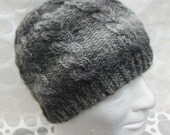 KNITTING PATTERN/INISHMOR Cable Hat Pattern Cable Knit Fishermans Hat Pure Wool/Aran Worsted/ Cable Hat Pattern/ Mans Cable Hat/Mens Pattern
