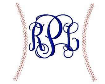 Baseball - Softball  Stitching Frame Designs 7in, 9in and 12in - INSTANT DOWNLOAD - formats - dst exp hus jef pes sew vip xxx
