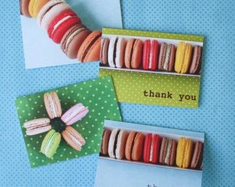 Macaron Notecards - Set of Four